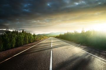 road in north mountains © Iakov Kalinin