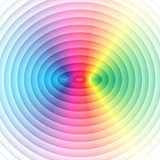Abstract shiny colorful circles background. - 216876675