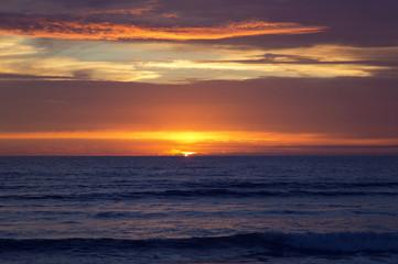 Sunset at Strandhill Beach