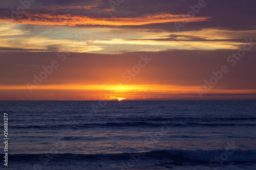 Sunset at Strandhill Beach