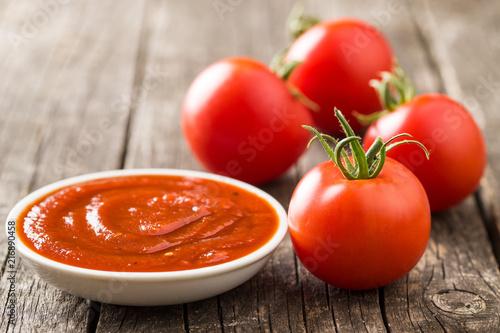 Foto Murales Tomatoes and ketchup.
