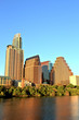 Austin Downtown Skyline at Sunset