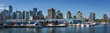 View to Downtown Vancouver and Marina from Stanley Park
