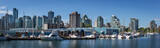 View to Downtown Vancouver and Marina from Stanley Park - 216900212