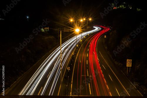 In de dag Nacht snelweg Estela de luz