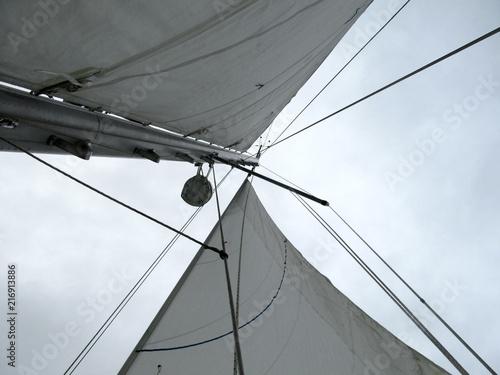 Canvas Zeilen boat
