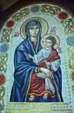 Fresco mosaic.Christian male monastery. .Tomashevka,Kiev region - 216923018