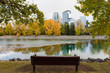View of Calgary Downtown in Autumn
