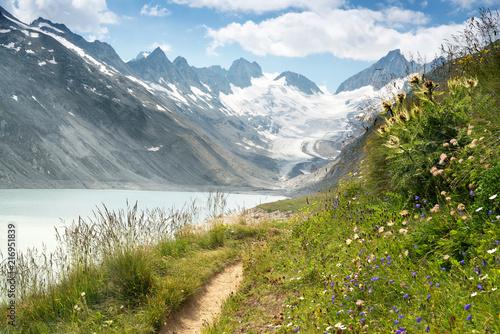 Wanderweg zum Oberaargletscher, Schweiz