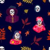 Halloween seamless pattern.  - 216952413