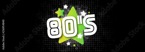 80's / The eighties - 216954840