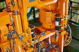 hydraulic hose system oil drive system - 216974296