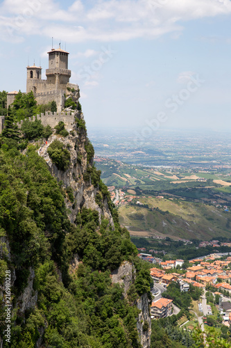 Rocca della Guaita, the most ancient fortress of San Marino, Italy © cloudberry77