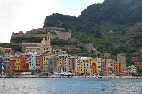 In de dag Liguria View of Porto Venere, Liguria, Italy