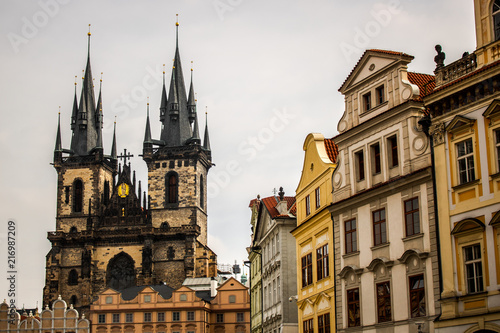 obraz PCV Edificios em Praga