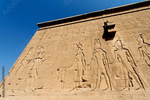 Tempel in Dendera
