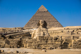The Great Pyramid and Sphinx - 216992419