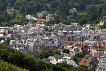 Die Altstadt von Etretat in der Normandie  © hecke71