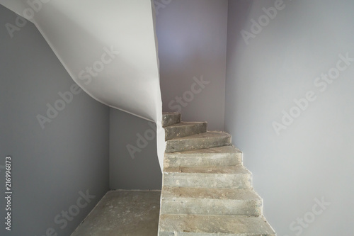 Staircase Interior After New Painting