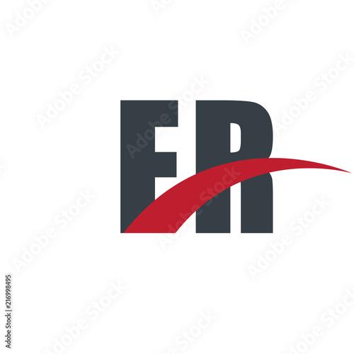 Initial Letter Overlapping Design Logo