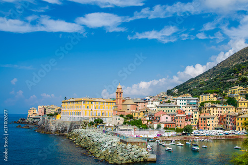 Fotobehang Liguria Nervi, Genova