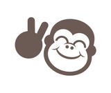 funny monkey draw