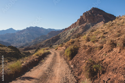 Foto Spatwand Zalm Offroad Trails