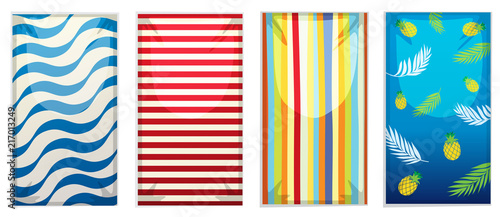 A set of beach towel - 217013249
