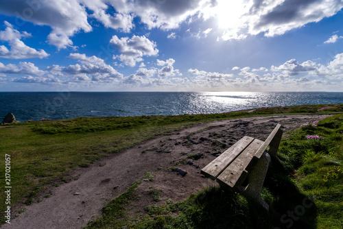 Panorama sur les îles de Ouessant et Molène