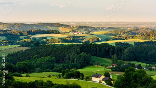 Zmierzch wzgórze kraj Austria 2