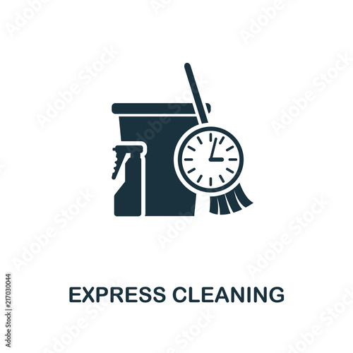Express Cleaning icon  Line style icon design from cleaning icon