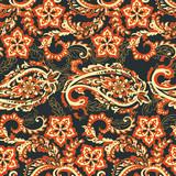 Paisley seamless pattern.  Indian ornament