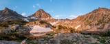 Morning Alpine Lake Reflection