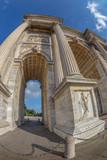 Triumph Arc - Arco Della Pace in Sempione park, Milan, Italy - 217055234