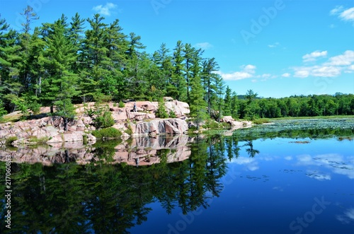 Aluminium Blauw The jewel of Ontario Canada, Killarney Provincial Park