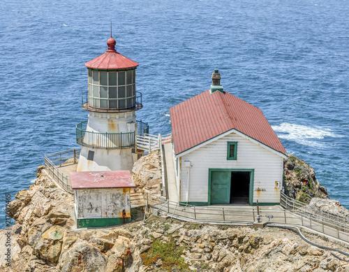 Aluminium Vuurtoren Lighthouse at Point Reyes, California