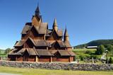 Heddal Stave Church, Norways largest stave church, Notodden municipality, Norway - 217101453