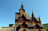 Heddal Stave Church, Norways largest stave church, Notodden municipality, Norway - 217101464