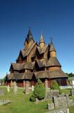 Heddal Stave Church, Norways largest stave church, Notodden municipality, Norway - 217101473