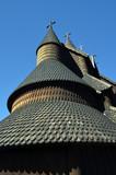 Heddal Stave Church, Norways largest stave church, Notodden municipality, Norway - 217101491