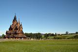 Heddal Stave Church, Norways largest stave church, Notodden municipality, Norway - 217101498