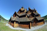Heddal Stave Church, Norways largest stave church, Notodden municipality, Norway - 217101667