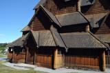 Heddal Stave Church, Norways largest stave church, Notodden municipality, Norway - 217101672