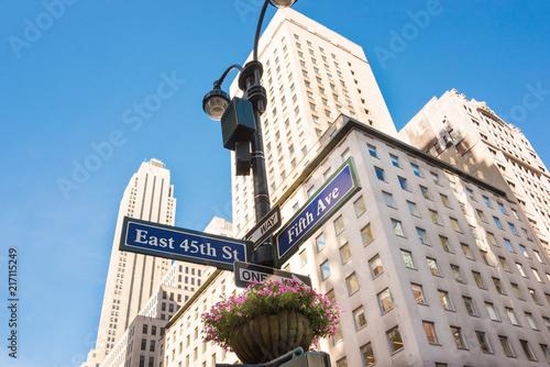Foto Murales 5th avenue in New York city