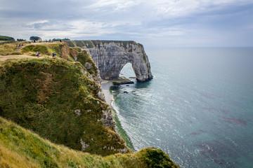Etretat's cliffs © Antoine
