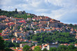 Italy, typical hill country in spring. - 217120059