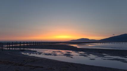 Sunset in Tarifa, Cadiz, Spain taken in August.  © Tim