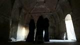 ghosts in an old farmhouse in Apulia (Puglia) - 217131425