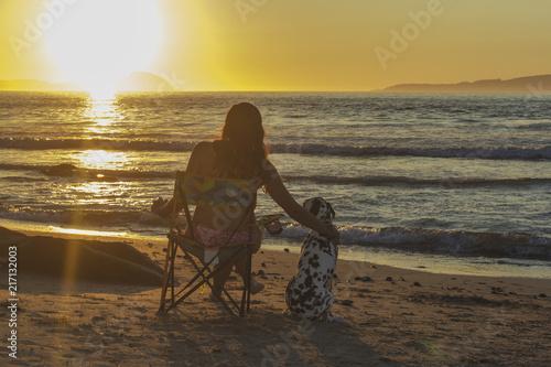 Foto Spatwand Strand Momentos agradables