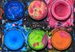 Quadro Colorful water palette